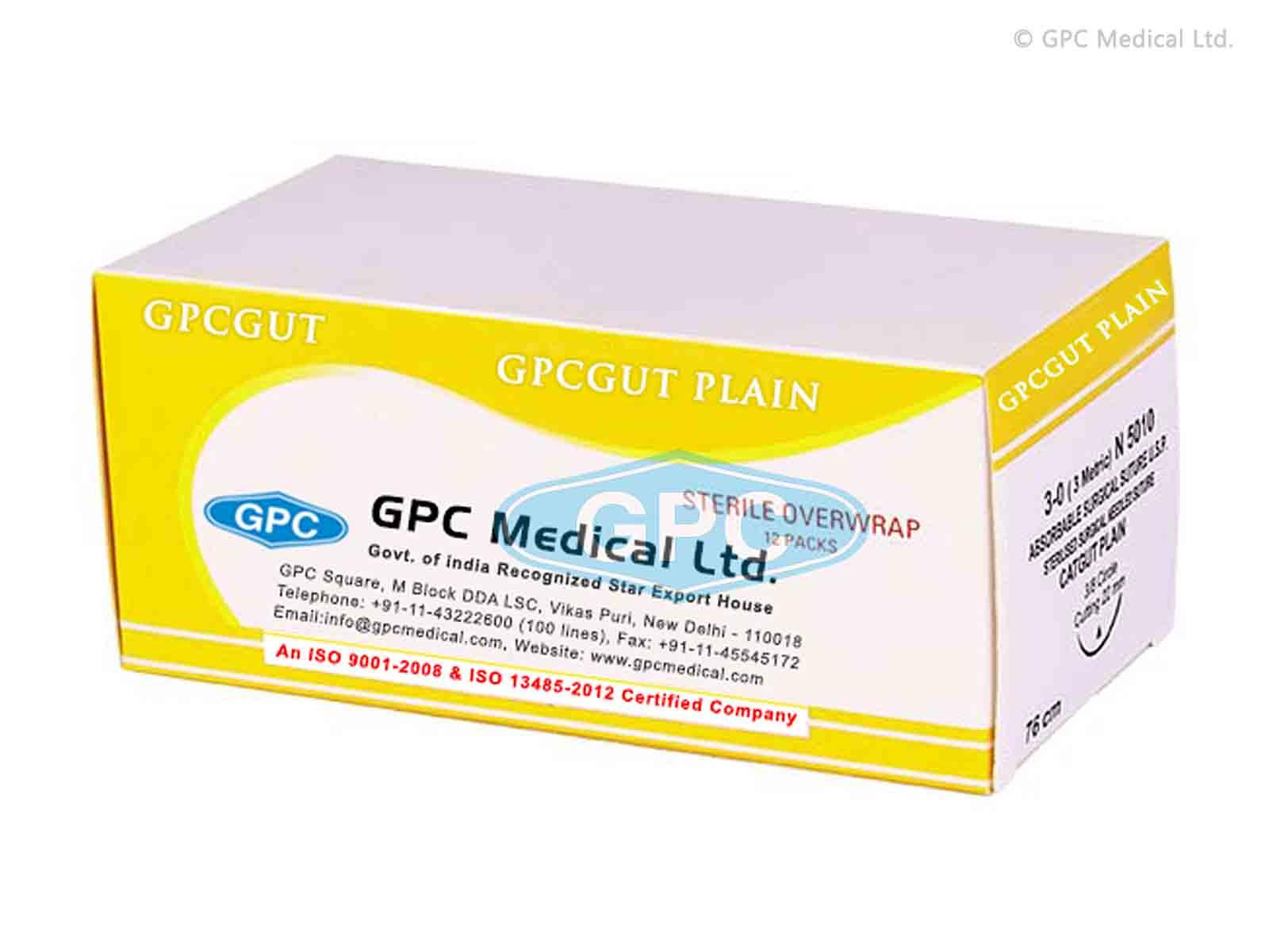 GPCGUT PLAIN - Catgut Plain