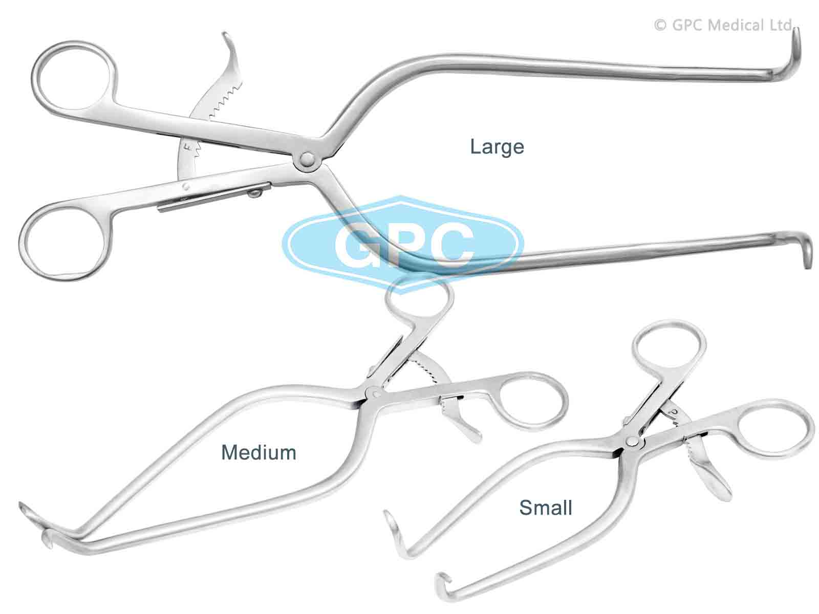 Gelpi Retractor-Small, Medium, Large